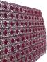 Strassband påstrykbart - Rött 11 mm