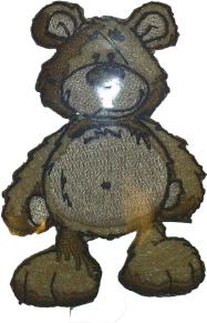 Textilmärke Nalle - Textilmärke Nalle