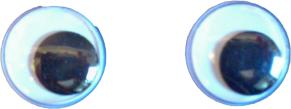 Ögon - Ögon 15 mm