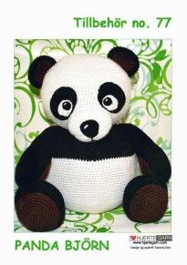 Mönster till Panda - Panda