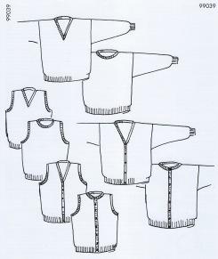 Mönster till Slätstickade Baströjor till hela familjen - Slätstickade Baströjor till hela familjen