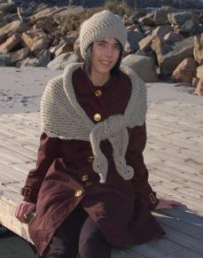 Mönster till Spetsstickad mössa och sjal - Spetsstickad mössa och sjal