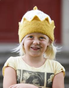 Mönster till Stickad Prinsessmössa - Stickad Prinsessmössa