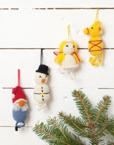 Mönster till Virkade Julfigurer - Virkade Julfigurer