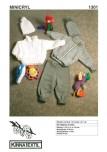 Mönster till Tröja, kofta, mössa & byxor till babyn