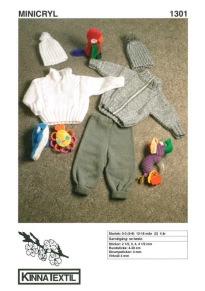 Mönster till Tröja, kofta, mössa & byxor till babyn - Tröja,kofta, mössa och byxor till babyn