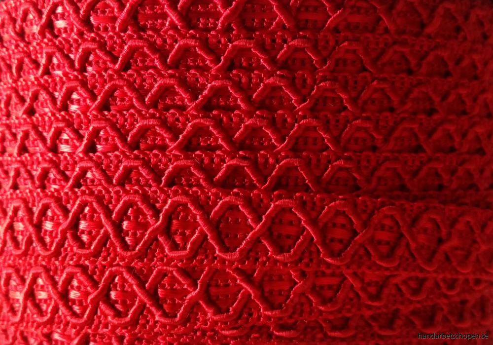 Möbelband 12 mm röd