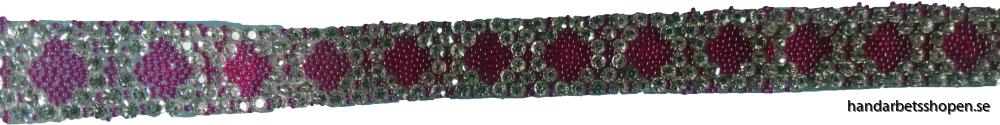 Strassband rött 2