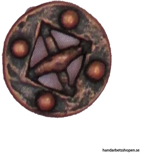Vikingknapp koppar