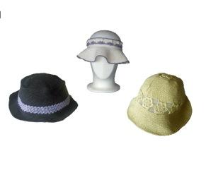 Mönster till virkade hattar och solskärm - Virkade hattar och solskärm