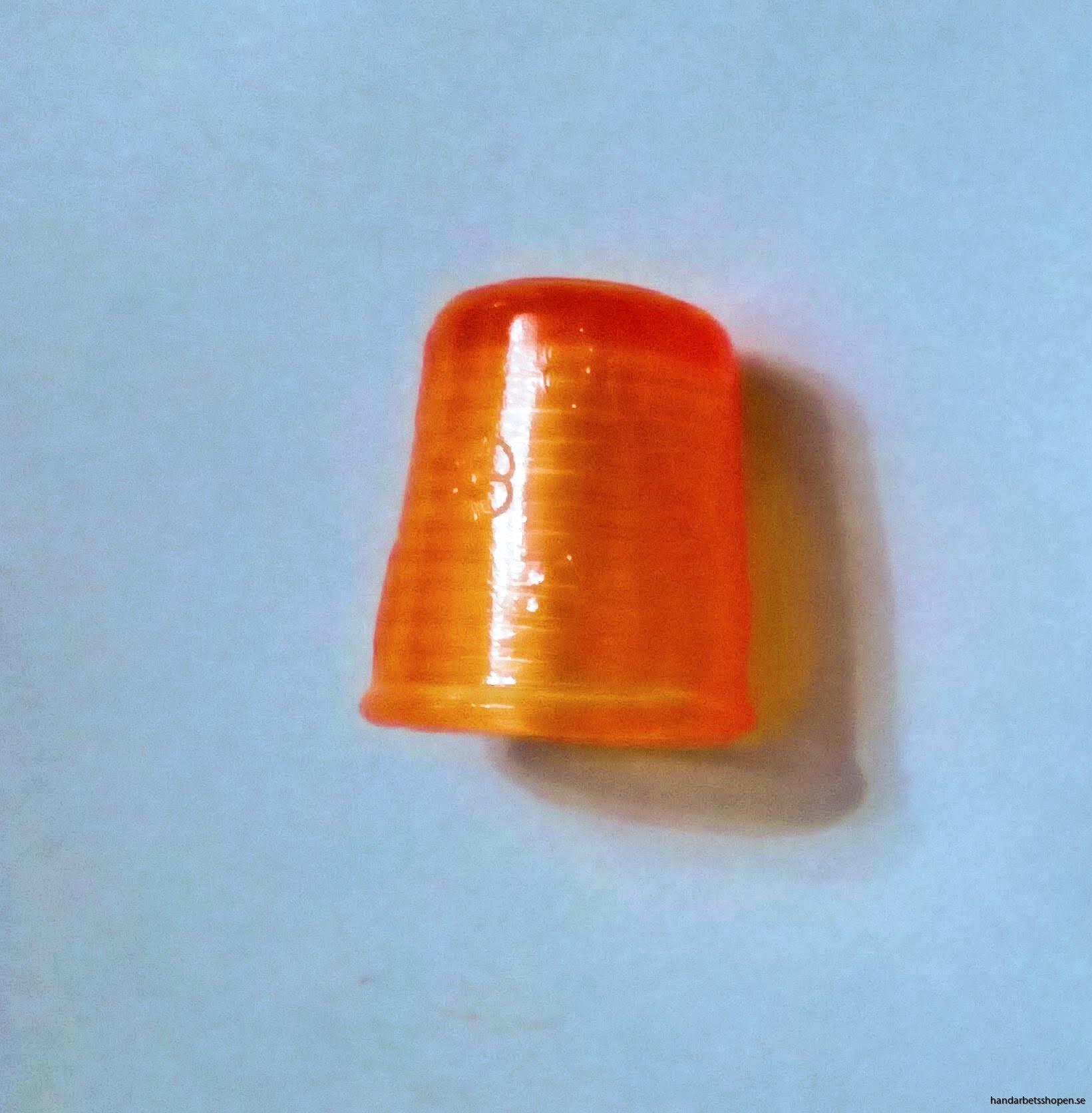 Orange fingerborg