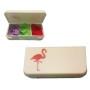 Stickmarkörer - Stickmarkör Flamingo