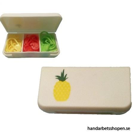 Stickmarkör Ananas 3
