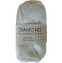 Merceriserat Bomullsgarn 8/4 - Vitt nystan 50 gram Diamond 100