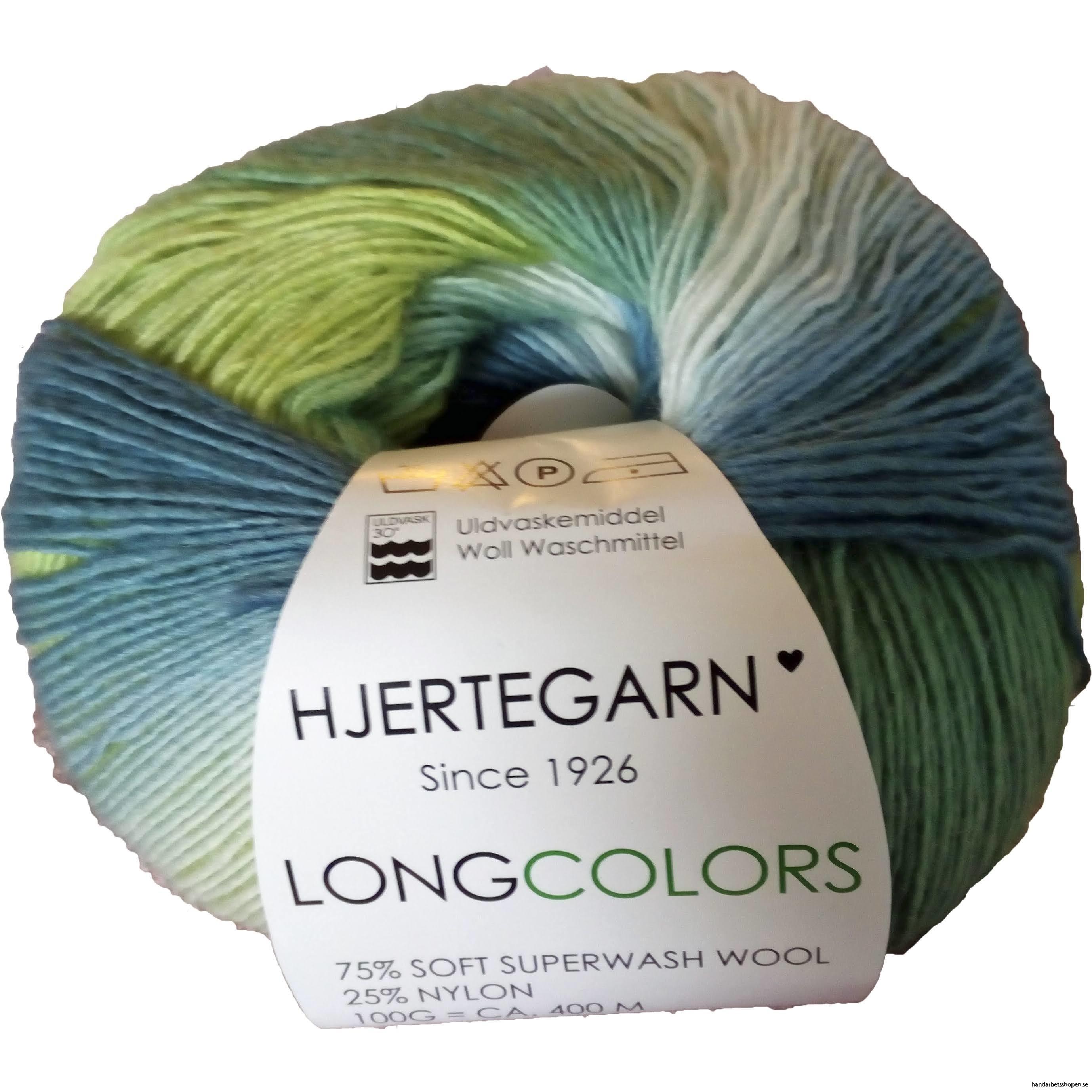 Longcolors Blågrön 24 602
