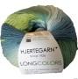 Slipover i Longcolors - Slipover Longcolors Blågrön Herr XL