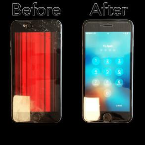 Iphone 7 skärmbyte (orginal)