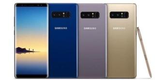 Samsung galaxy note 8 -