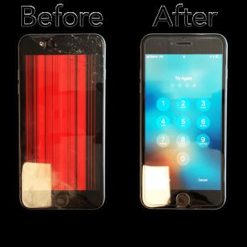 Iphone 7+ Skärmbyte (orginal)
