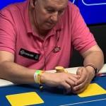 Tommy Bergman på finalbord i Drawmaha Poker SM 2019