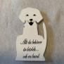 Kylskåpsmagneter - Allt du behöver är kärlek och en hund