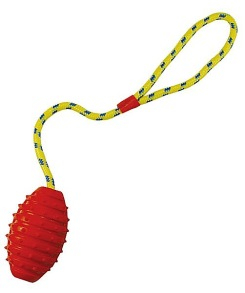 Pritax Rubber Football with Rope - Pritax Rubber Football with Rope