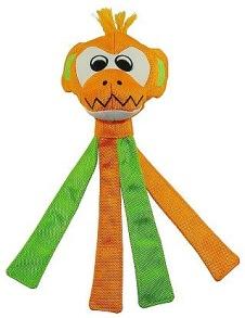 Pritax Chew Monkey Green & Orange - Pritax Chew Monkey Green & Orange