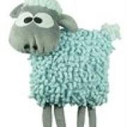 Loopy Sheep light blue