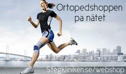 Handla skoinlägg och sportskydd hemifrån