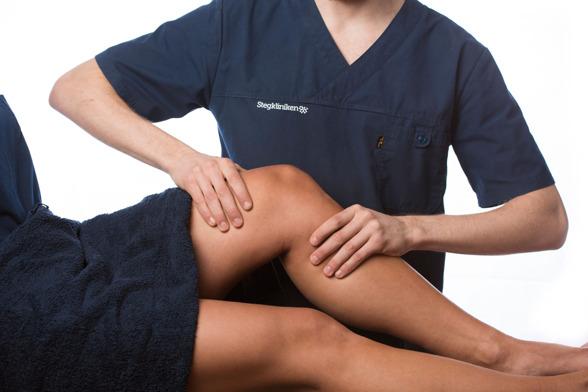 Sjukgymnastik på stegkliniken 1 - 5 behandlingar är vårt mål för att få dig frisk!