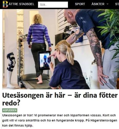 """Artikel Stegkliniken 2017. Av """"Bättre stadsdel Hägersten"""""""