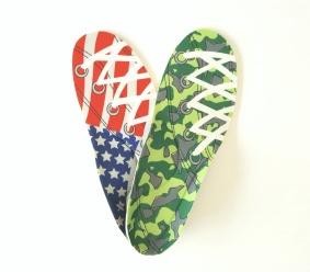 Ortopediska inlägg för sneakers