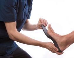 Formgjut ortopediska sulor & skoinlägg