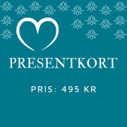 Presentkort 495 kr