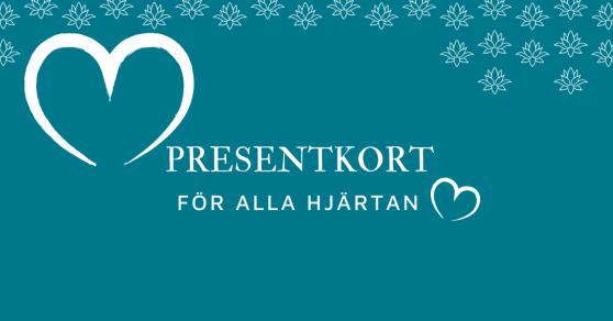 Presentkortet för Alla Hjärtan, från GreatBeing