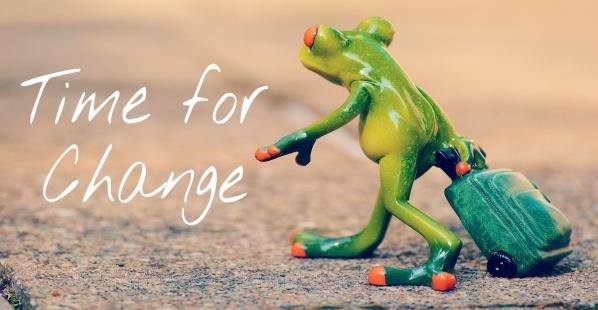 Blogginlägg från GreatBeing: 5 bra  anledningar till förändring