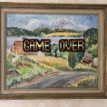 Game Over 200kr. 48x40cm