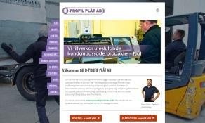 Nya hemsidan på: O-PROFIL.COM