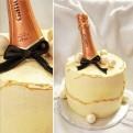 Champagnetårta