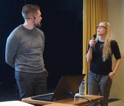 Peter Romlin & Linda Fändriks