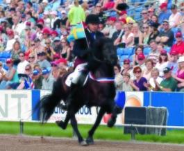 Hrisla från Skáneyland VM 2007. Foto Ingela Bjurenborg