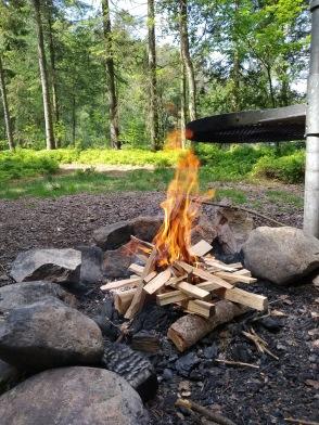 """Komma """"Hallandsleden-hike"""" - Upplev den vackra Halländska naturen på guidad vandring med övernattning & matlagning över öppen eld. Boka hike med Recreation.nu Halmstad"""