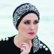 Turban New Capri Soft 01 mit Band 526