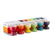 Rainbow Set med 6 Äggkoppar