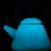 Kone Vattenkittel med Vissla, Deep Teal - Kone Vattenkittel med Vissla, Deep Teal
