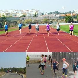 Utvecklande löpträning som alla tyckte om