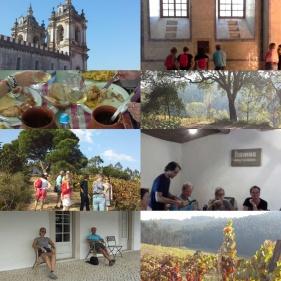 Klostret i Alcobaca, Medeltidsstaden Obidos och vingården Quinta do Paco