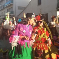Vackra karnevalskläder