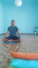Nuno - tillsammans med Dinamene håller han i Yoga klasserna