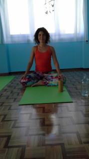 Dinamene - en av våra duktiga Yoga lärare